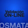 Validación on-line OSMATA