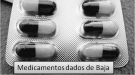 Medicamentos dados de Baja