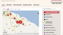 Sitio web para ayudar a los damnificados por la inundación de La Plata