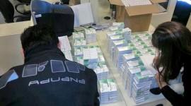 Incautan más de 200 mil fármacos para la venta ilegal