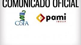 COMUNICADO OFICIAL COFA – PAMI