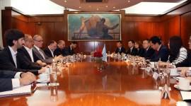 Reunión con el mayor laboratorio público chino