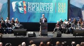 El Ministro Gollán habló sobre el futuro del sistema sanitario en el Encuentro Nacional de Equipos de Salud