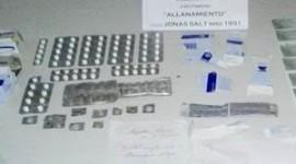 Provincia de Buenos Aires: Allanamiento en un domicilio particular de Pablo Podestá por venta ilegal de medicamentos