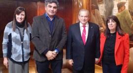 Autoridades de la COFA se reunieron con el Ministro de Salud de la Nación