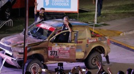 Omar Gándara, corredor del Rally Dakar
