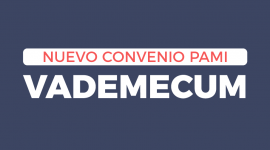 Nuevo Convenio PAMI – Vademecum