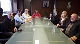 Reunión en la Secretaría de Regulación y Gestión Sanitaria para definir el circuito legal del cannabis medicinal