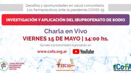 INVESTIGACIÓN Y APLICACIÓN DEL IBUPROFENATO DE SODIO | Charla en Vivo