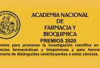 Convocatoria a los Premios 2020 de la Academia Nacional de Farmacia y Bioquímica