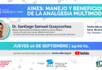 AINES: MANEJO Y BENEFICIOS DE LA ANALGESIA MULTIMODAL