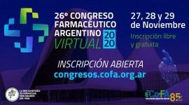 Presentación de posters virtuales para el 26° Congreso Farmacéutico Argentino