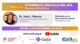 Vitamina D: Más allá del Sol – Nuevos beneficios