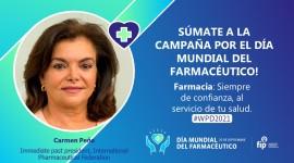 """""""La Farmacia: siempre de confianza para tu salud"""" será el tema del Día Mundial del Farmacéutico 2021"""