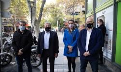 Invitada por el vicepresidente de la COFA, Luana Volnovich realizó el lanzamiento oficial de la campaña de vacunación antigripal de PAMI 2021 en Mendoza