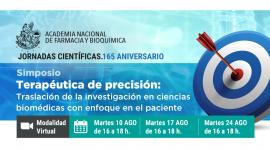 Simposio Terapéutica de precisión: Traslación de la investigación en ciencias biomédicas con enfoque en el paciente